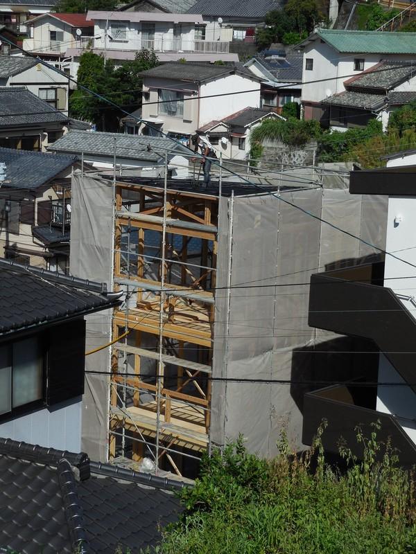 3階建の家ができるまで(4)