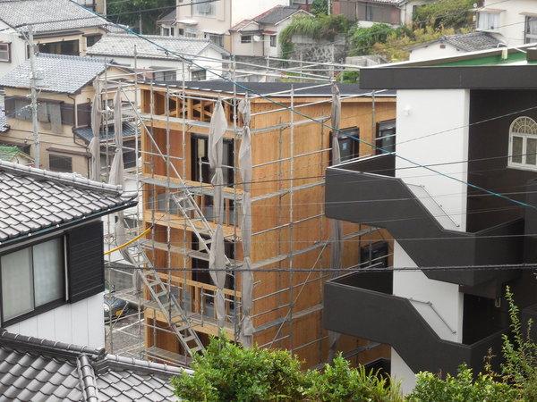 3階建の家ができるまで(6)