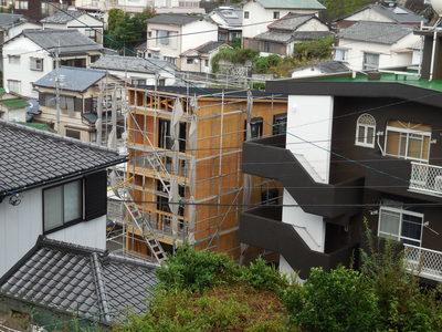 3階建の家ができるまで(8)