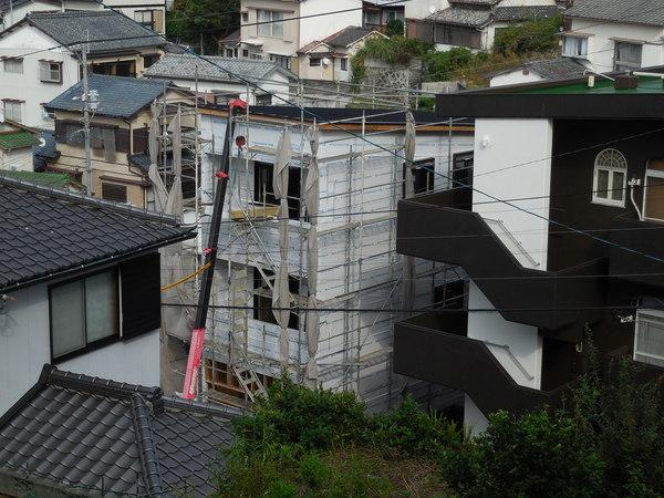 3階建の家ができるまで(10)